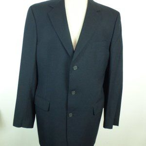 BROOKS BROTHERS BROOKSEASE navy blue blazer 44L
